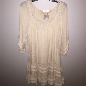 Cream Colored Dress by entro