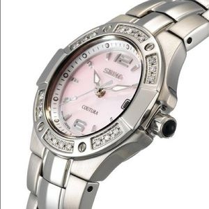Seiko Accessories - Seiko Coutura Diamond Ladies Pink