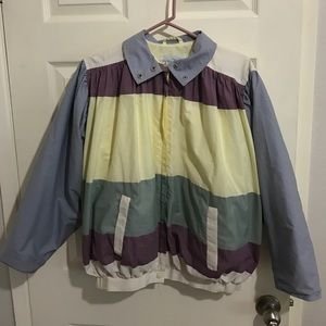 MHI Jackets & Blazers - Vintage 80's Retro MHI Windbreaker