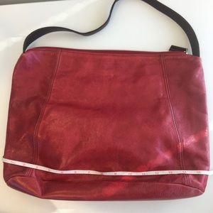 Ellington Bags - Ellington Red Leather Hobo Purse