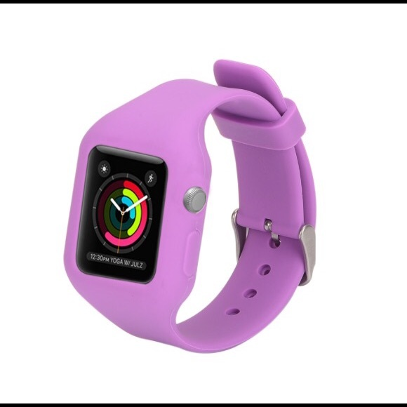 how to clean silicone apple watch band