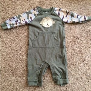 Carter's Other - Green Monkey Pajamas 🐒