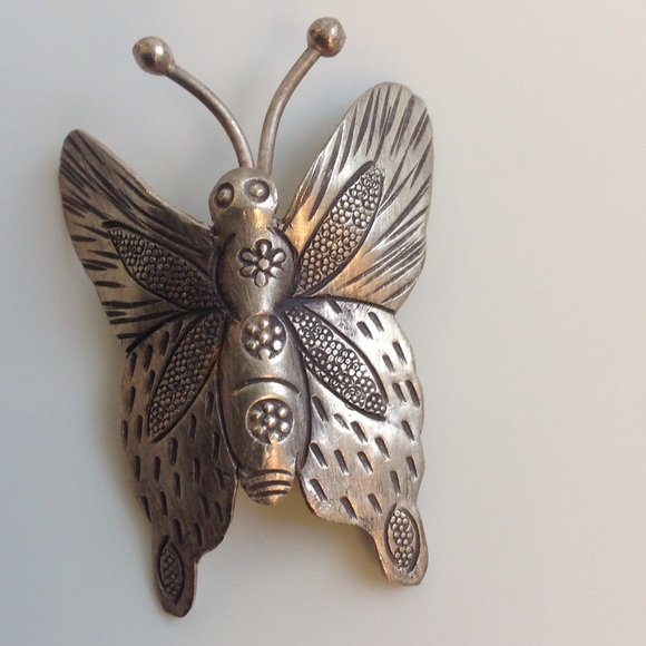 Jewelry - Silver Butterfly Pendant