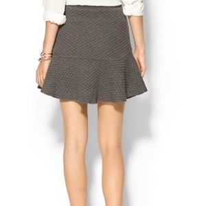 Line & Dot Dresses & Skirts - NWT Line & Dot Quilted Gray Skirt Size M