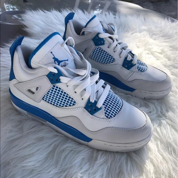 dd557817770 Air Jordan Shoes | 4 Retro Military Blue | Poshmark