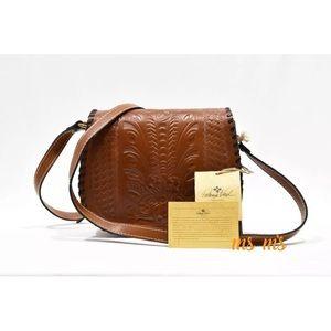 Patricia Nash Handbags - NWT Patricia Nash brown leather crossbody
