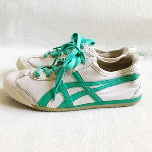Onitsuka Tiger by Asics Shoes - 👟 Asics Onitsuka Tiger Sneakers in Teal/Ivory