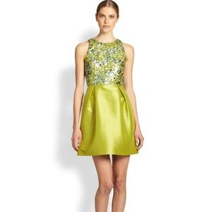 Monique Lhuillier Dresses & Skirts - NWT Monique Lhuillier Sequin Faille Dress Size 4