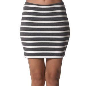 Ponte Mini Skirt | American Apparel