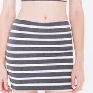 American Apparel Skirts - Ponte Mini Skirt | American Apparel