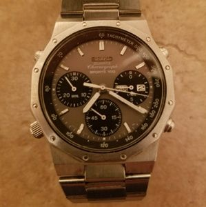 Seiko Other - Mens SEIKO FLIGHTMASTER SPORTS 100 Chronograph.