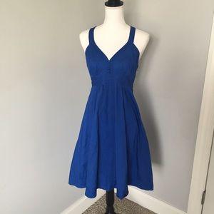 Ted Baker London Dresses & Skirts - Ted Baker London Blue Razorback Dress