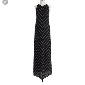 J. Crew Dresses & Skirts - J crew linen chevron maxi dress