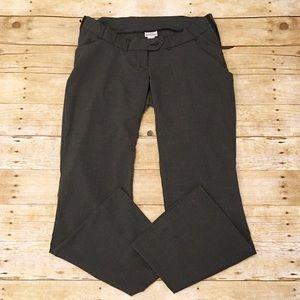 Motherhood Maternity Pants - Gray Motherhood Maternity trousers, size medium
