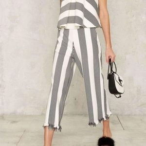 🌹nasty gal all the stripes move pants