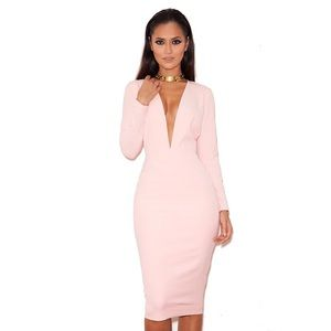 House of CB Dresses & Skirts - Soft Pink House of CB 'Dominique' Dress