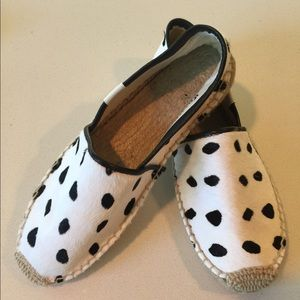 Soludos Shoes - Soludos Leopard-print canvas espadrille flats