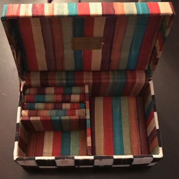 51488c8f69b mackenzie childs Jewelry - Authentic Mackenzie Childs signature jewelry box!
