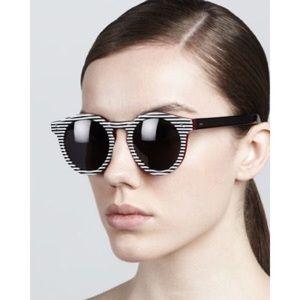 Illesteva Accessories - Illesteva Leonard II Stripes Sunglasses NEW