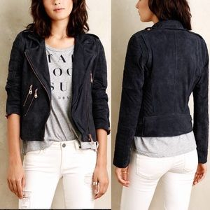 Anthropologie Jackets & Blazers - Doma Anthro Suede Moro Jacket
