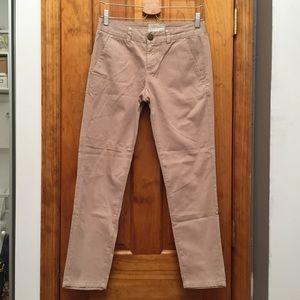 Current/Elliott Pants - Current Elliott Cream Pants EUC