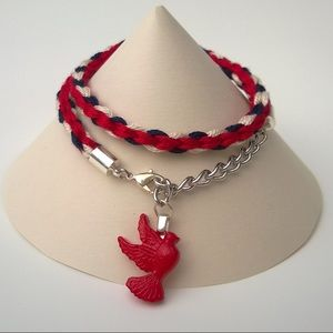 Jewelry - Handmade Kumihimo Wrap Bracelet