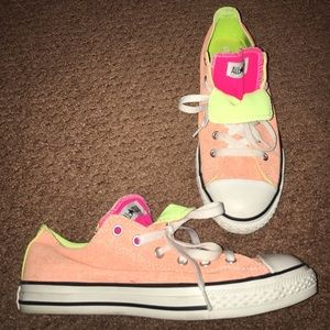 Converse Other - Tangerine Converse ALL STAR