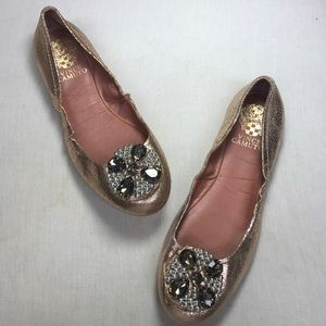 Vince Camuto Shoes - New Vince Camuto Rose Gold flats