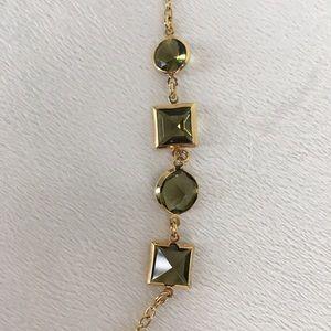 J. Crew Jewelry - J. Crew Geometric Stone Necklace
