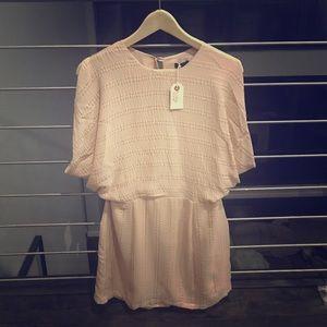 Wren Dresses & Skirts - Wren Open Back Nude Dress