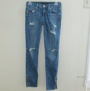 Genetic Denim Denim - Genetic distressed skinny jeans
