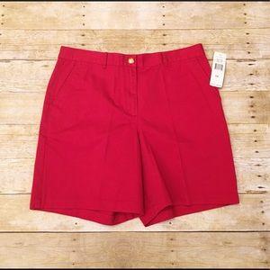 Monaco Red Lauren Ralph Lauren classic shorts, 14