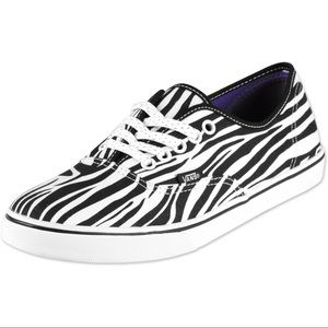 Vans Shoes - Vans | Zebra Sneakers