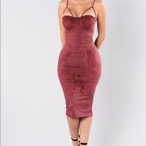 Fashion Nova Dresses & Skirts - Rich like suede🌹