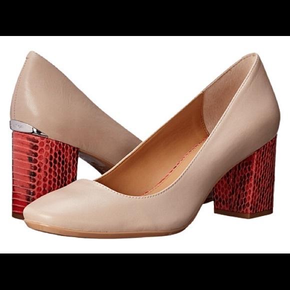 ece9a43889 Calvin Klein Shoes - Calvin Klein Cirilla Block Heel Pump NWOT