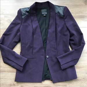 Trouve Jackets & Blazers - Trouve suit blazer small purple