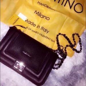 Mario Valentino Handbags - Valentino black crossbody bag