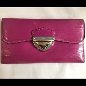 Louis Vuitton Handbags - Louis Vuitton fuchsia Epi leather wallet clutch