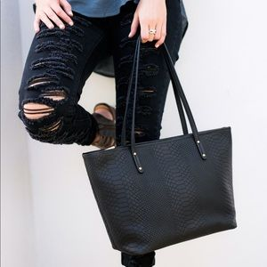 GiGi New York Handbags - Mini Taylor Tote by GiGi New York in Black
