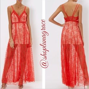Alice McCall Dresses & Skirts - 🆕 Red Lace I See You Dress