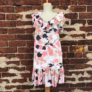 M by Missoni Dresses & Skirts - M Missoni 6 Floral Ruffled Shift Dress Sundress