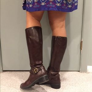 Life Stride Brown Riding Boots