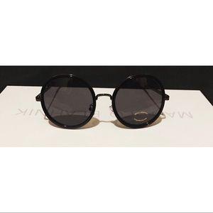 Karen Walker Accessories - 🔥🔥Black circle oversize round sunglasses