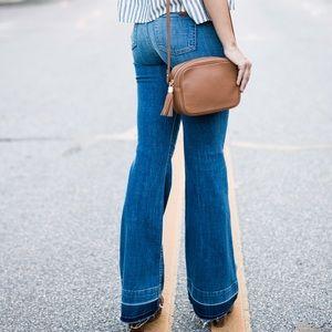 GiGi New York Handbags - Madison Crossbody in Saddle by GiGi New York