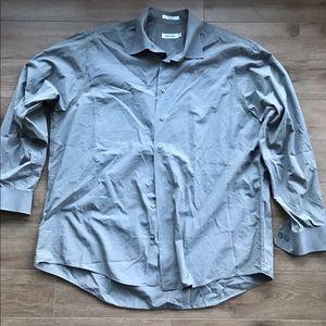 5/$15 Calvin Klein CK Bottom Down dress shirt
