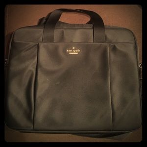 Kate spade classic nylon laptop bag
