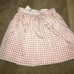 Alice Moon Dresses & Skirts - Pink with black polka dots flouncy skirt