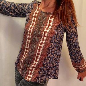 Alya Tops - Alya boho blouse.