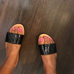 H&M Black Sandals...
