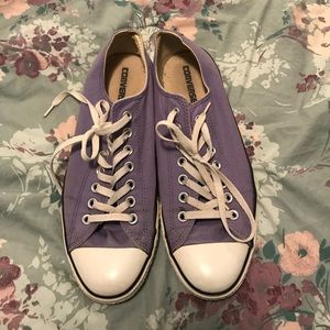Converse Shoes - Lilac Converse Low Tops